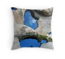 Two Pools Throw Pillow
