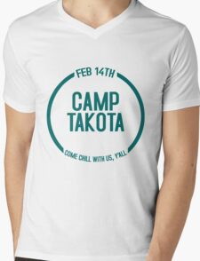 Camp Takota - Come Chill With Us, Y'all - ONE YEAR Mens V-Neck T-Shirt