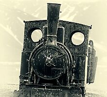 Old Steam Engine by Marylou Badeaux