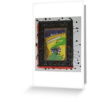 Oh Oh - Green Hands Greeting Card