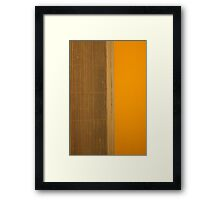 Ventilation Framed Print