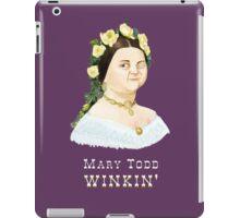 Mary Todd Winkin' iPad Case/Skin