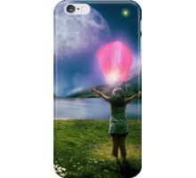 Under The Crystal Moon  iPhone Case/Skin