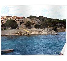 Palau: port Poster