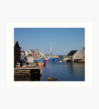 Village of Peggy's Cove Art Print