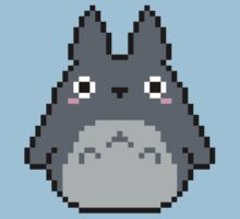 Cute Totoro - pixel art by taguzga