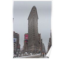 The Flatiron Building New York City Poster