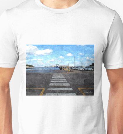 Palau: port Unisex T-Shirt