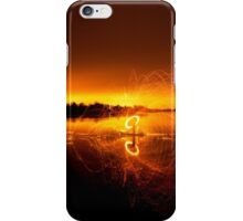 Middle of the lake  iPhone Case/Skin