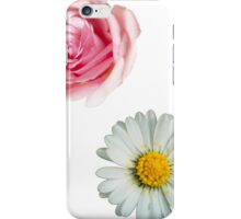Rose & daisy iPhone Case/Skin