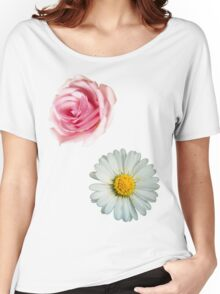 Rose & daisy Women's Relaxed Fit T-Shirt