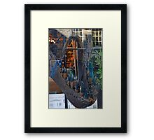 In The Jaws of a Dinosaur ......... Framed Print