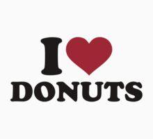 I love donuts by Designzz