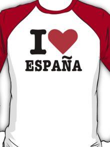 I love España Spain T-Shirt