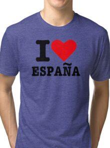 I love España Spain Tri-blend T-Shirt