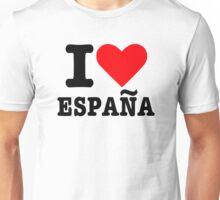 I love España Spain Unisex T-Shirt