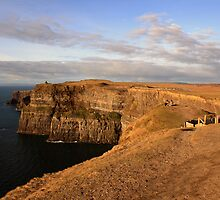 Cliffs of Moher evening view by John Quinn