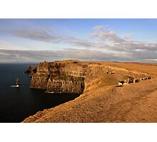Cliffs of Moher evening view Photographic Print
