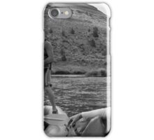 on a raft iPhone Case/Skin