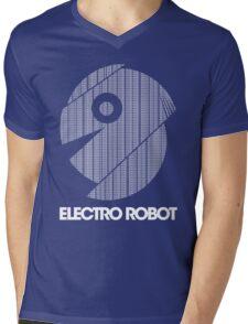 Electro Robot Mens V-Neck T-Shirt