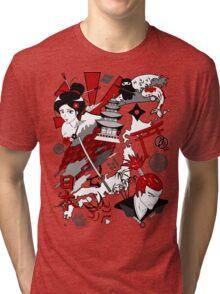 Japanfluence Tri-blend T-Shirt