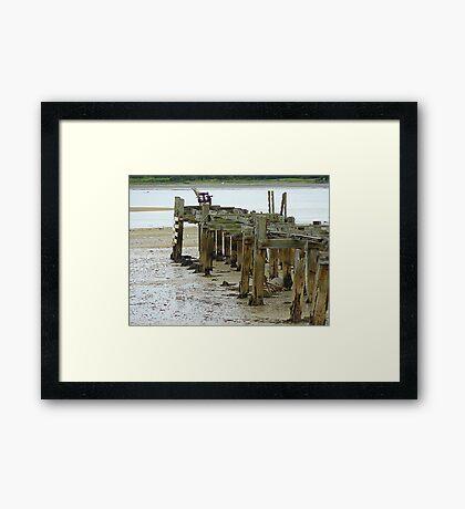 Low Tide At Fahan Pier..........................................Ireland Framed Print