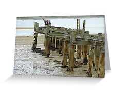 Low Tide At Fahan Pier..........................................Ireland Greeting Card