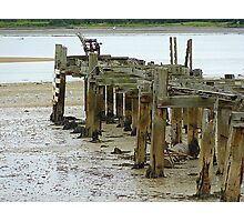 Low Tide At Fahan Pier..........................................Ireland Photographic Print