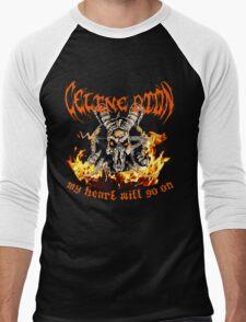 Celine Dion - My Heart Will Go On Men's Baseball ¾ T-Shirt