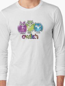 owlish retro  Long Sleeve T-Shirt