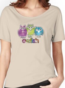 owlish retro  Women's Relaxed Fit T-Shirt