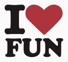 I love fun Kids Tee