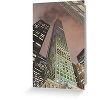 432 Park Avenue New York City Greeting Card