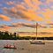 Rowing in the Light - Newport - The HDR Series by Philip Johnson