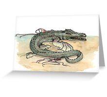 Serpentia ichneumonia (clean version) Greeting Card
