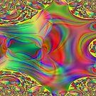 Rainbow Fractal by WildestArt