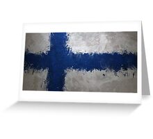 Finland - Magnaen Flag Collection 2013 Greeting Card