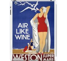 Air Like Wine iPad Case/Skin
