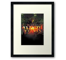 Spirit of War Framed Print