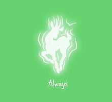 Harry Potter Patronus Valentines: Snape, Always by Alice Edwards