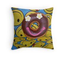Smile It's Bandana Day Throw Pillow