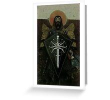 Blackwall Tarot Greeting Card