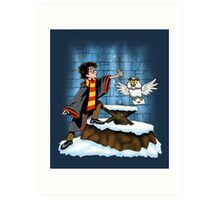 Wand and the Wizard Art Print