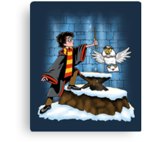 Wand and the Wizard Canvas Print
