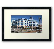 Blue hotel at Oakland  Framed Print