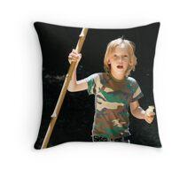 Bush Walk Throw Pillow