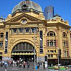 Flinders Street Station by Gregory John O&#x27;Flaherty