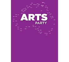 The Arts End of the World - Arts Party Photographic Print