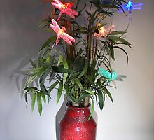Dragonfly Bouquet by SprinkleLights