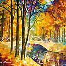Trip To The Future — Buy Now Link - www.etsy.com/listing/221478485 by Leonid  Afremov